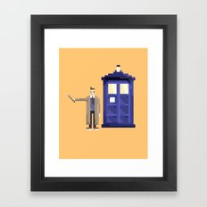 Retro Who Framed Art Print