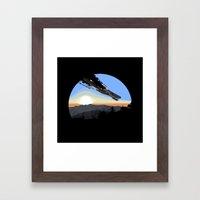 Interstellar Tragedy Framed Art Print