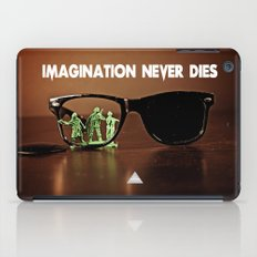 Imagination Never Dies iPad Case