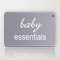 Baby Essentials Pantone 2016-Lilac Gray Laptop & iPad Skin