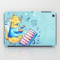 Keyboard Cat Says Thank You iPad Case