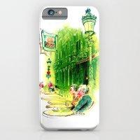 Cafe in Bruges iPhone 6 Slim Case