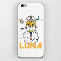 Space Cat iPhone & iPod Skin