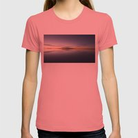 Lake Womens Fitted Tee Pomegranate SMALL