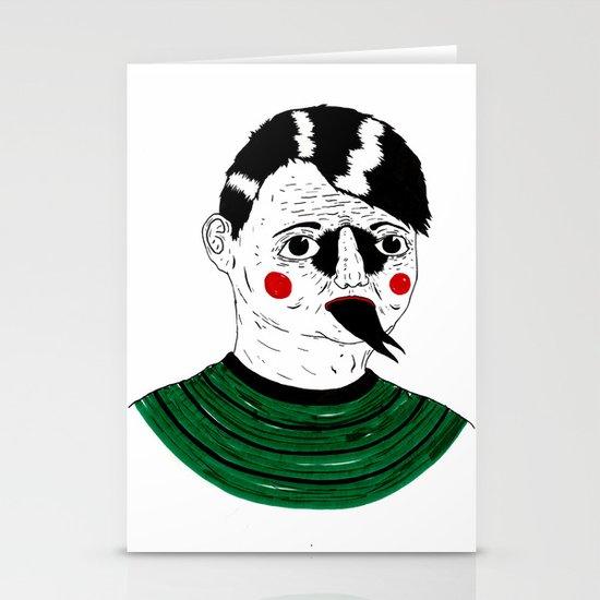 Snake Kid Stationery Card