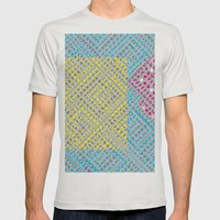 Diamond Mens Fitted Tee Silver SMALL