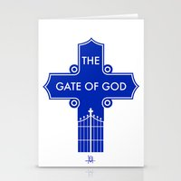 The Gate Of God Stationery Cards