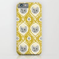 iPhone & iPod Case featuring Grey Cat by ottomanbrim