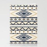 aztec Stationery Cards featuring AZTEC by Oksana Smith