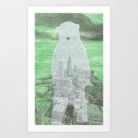 Chilly City Art Print