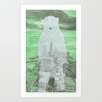 Chilly City Art Print