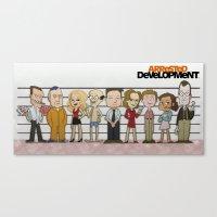 Arrested Development Canvas Print