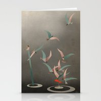 The Red Fish Stationery Cards