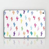 Rainbow Lightning Laptop & iPad Skin