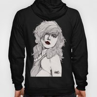 Debbie with Red Lips Hoody