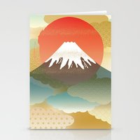 japan Stationery Cards featuring JAPAN by rie_lalala