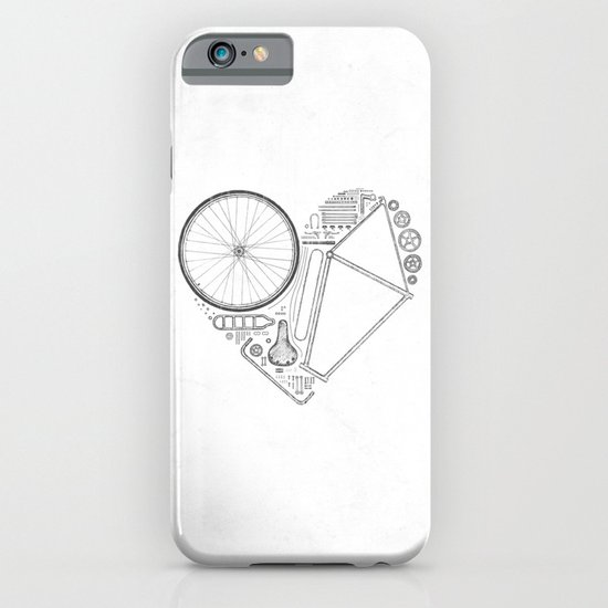 Love Bike (Grey) iPhone & iPod Case