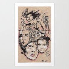 Hater Or Lover Art Print