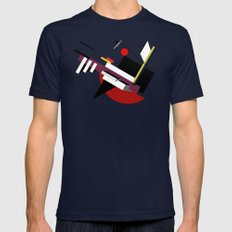 STARSHIP Mens Fitted Tee Navy SMALL