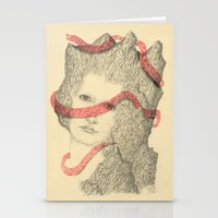 Mountains and Me Stationery Cards