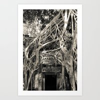 Preah Khan Gate 2 Art Print