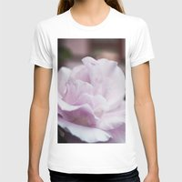 The lilac rose Womens Fitted Tee White SMALL