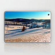 Smooth Hills In Winter W… Laptop & iPad Skin
