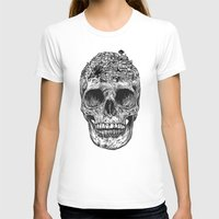 skull T-shirts featuring Skull Island by Rachel Caldwell