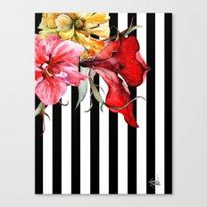FLORA BOTANICA | stripes Canvas Print