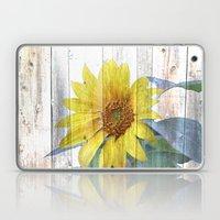 Sunflower Glow Laptop & iPad Skin