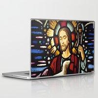 jesus Laptop & iPad Skins featuring JESUS. by Aldo Couture