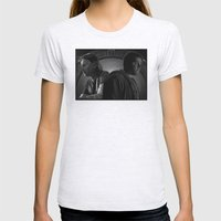 Brain Boxes Womens Fitted Tee Ash Grey SMALL