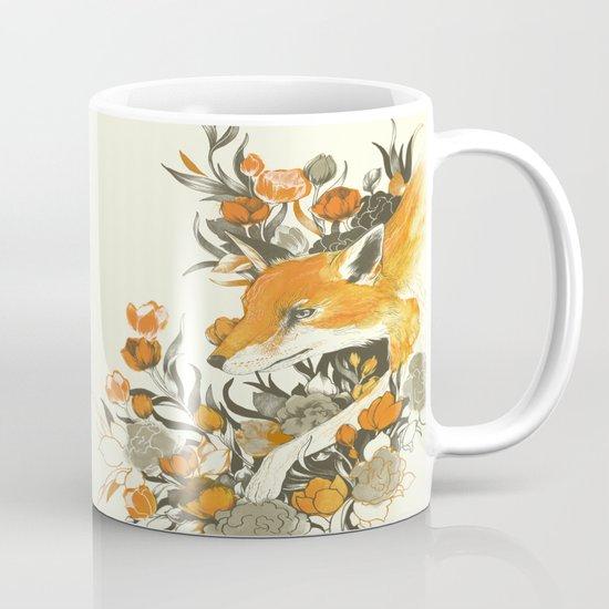 fox in foliage Mug