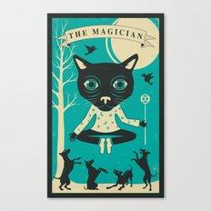 TAROT CARD CAT: THE MAGI… Canvas Print