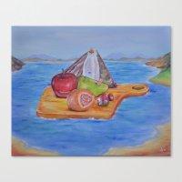 Mysterious Ark Canvas Print
