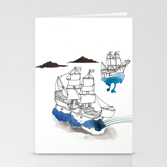 Two Lives Stationery Card