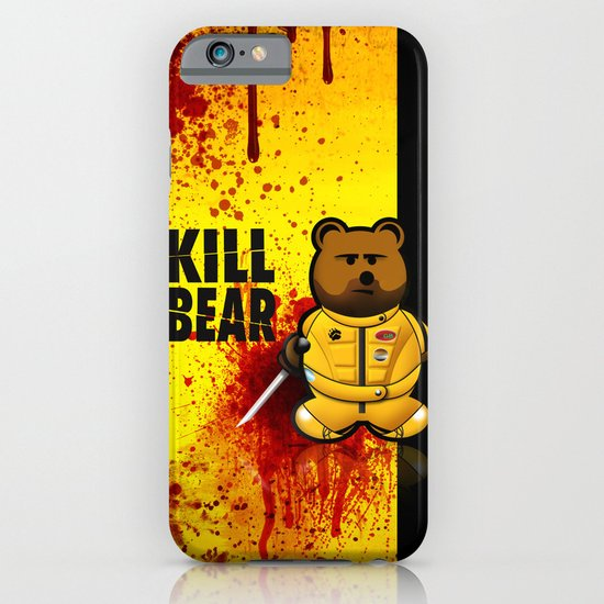 KILL BEAR iPhone & iPod Case