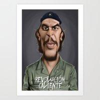 Celebrity Sunday ~ Che Guevara (Revolution Caliente special) Art Print