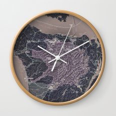 Olympic Peninsula Wall Clock