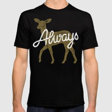 Always Mens Fitted Tee Black SMALL