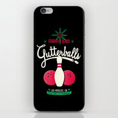 Gutterballs iPhone & iPod Skin