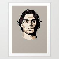 Paolo Maldini Art Print