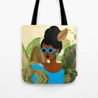 Bayou Girl III Tote Bag