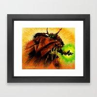 Hellspawn Framed Art Print