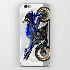 Yamaha R1 blue iPhone & iPod Skin