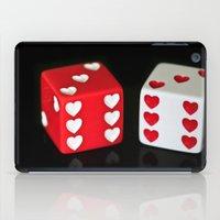 Dice Hearts iPad Case