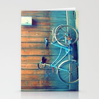 A Polka Dotted Bike Stationery Cards