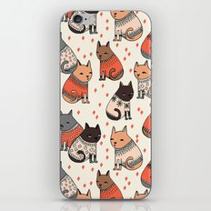 Sweater Cats - by Andrea Lauren iPhone & iPod Skin