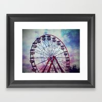 To Touch the Sky  Framed Art Print