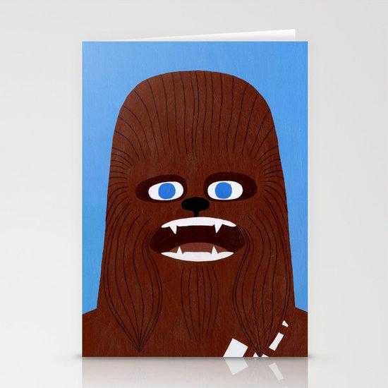 Chewbacca Stationery Card